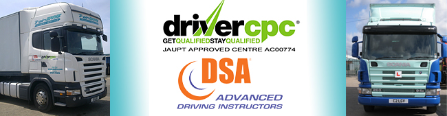 Commercial driver training centre london Kent Essex & Surrery
