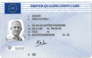 Driver-qualification-card