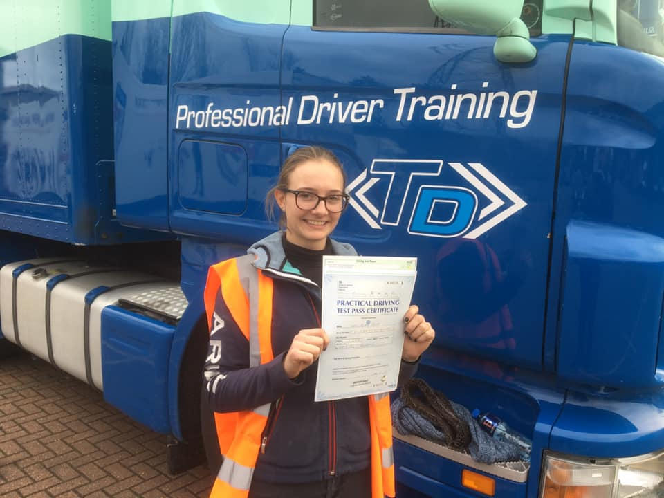 HGV LGV Class 1 Pass Success for New Driver
