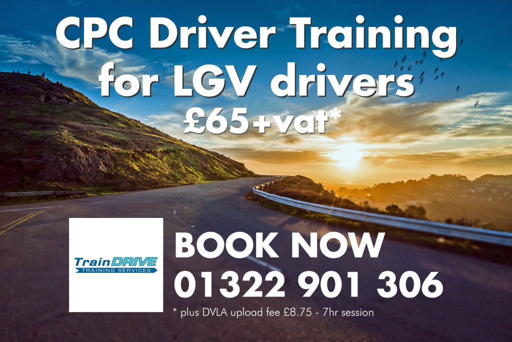 Spaces available for HGV / LGV CPC Driver Training this Thursday and Saturday. Call now for more details and booking.